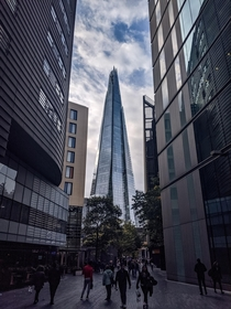 The Shard in London UK