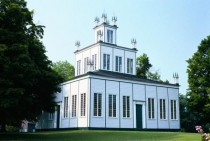 The Sharon Temple in Ontario built by the Children of Peace between -