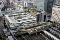 The Shinjuku Expressway Bus Terminal SEBT in Tokyo Straddling the busiest railway station in the world the SEBT is served by  buses per day