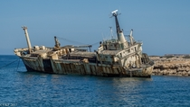 The shipwreck of the Edro III Paphos Cyprus   By Yee-Kay Fung