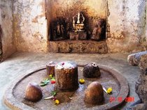 The shivlinga which is worshipped by ashwatthama