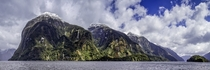 The shores of Doubtful Sound Fiordland New Zealand