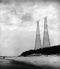 The Shukhov Tower on the Oka River the worlds only diagrid hyperboloid transmission tower