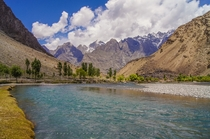 The Shyok River passing through Skardu Gilgit-Baltistan  By Adeel Shaikh