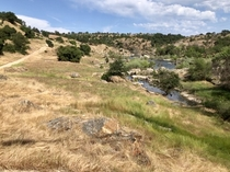 The Sierra Nevada foothills - Knights Ferry California