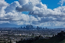 The skies over Los Angeles are so clear during quarantine