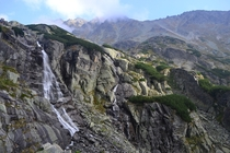 The Skok waterfall last September High Tatras Slovakia