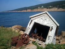 The Sliding Shack Chimney Corner Cape Breton Island -More info in comments-