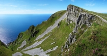 The Slieve League area Ireland has some breathtaking cliffs