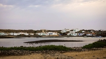 The small fishing village Majanicho in Fuerteventura
