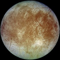 The smallest of the four galilean moons Europa