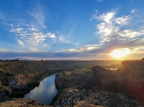 The Snake River Twin Falls Idaho