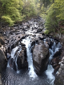 The SO and I went to Scotland recently This is Black Linn Falls at The Hermitage in Dunkeld
