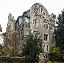 The Sonnenhaus - The Sun House - Coburg Germany - Built by architect Carl Otto Leheis in the Art Nouveau style in