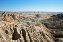 The South Dakota Badlands