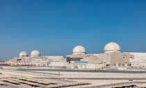 The South Korean built Barakah nuclear power plant in the United Arab emirates whose first reactor started up a month or two ago and when all of the reactors are opened should supply th of the UAEs electricity