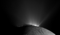 The South Pole of Enceladus a moon of Saturn taken by the Cassini spacecraft in