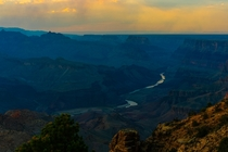 The South Rim of the Grand Canyon Arizona