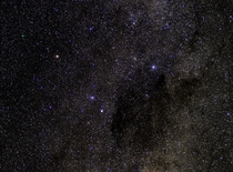 The Southern Cross and the Coalsack Nebula