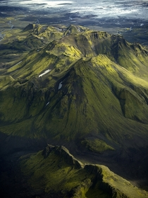 The Southern Highlands of Iceland  photo by Antony Spencer