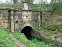 The southern portal of the Sapperton canal tunnel
