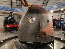 The Soyuz TMA-M capsule Tim Peake used to go to and come back from the ISS