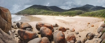 The spectacular boulders and landscapes of Wilsons Promotory Australia