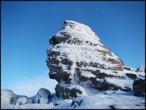 The Sphinx in Bucegi Mountains Romania