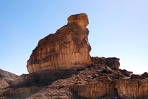 The Sphinx in Timna Park Israel