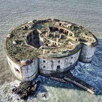 The Stack Rock Fort Wales - Abandoned