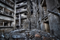 The stairway to hell Hashima Island x