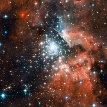 The star-forming region NGC