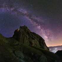 The Starry Night of Alamut taken in central Alborz Mountains