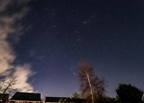The stars from my friends backyard in England UK