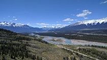 The start to my amazing adventure in Jasper National Park in Canada