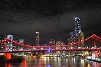 The Story Bridge in Brisbane Australia Took it a little while ago now and never got around to posting it anywhere so enjoy reddit