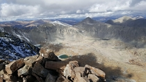 The summit from Quandary Peak October