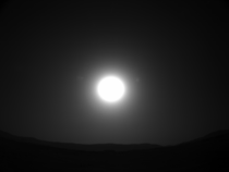 The Sun from Mars