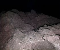 The surface of the asteroid Ryugu taken by the Japanese spacecraft Hayabusa-
