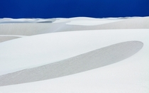 The surreal landscape of White Sands National Monument in New Mexico