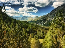 The Swiss National Park in Canton Grisons