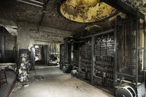 The switching room inside Alabamas Abandoned Empire Hotel
