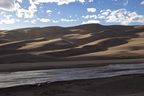 The tallest sand dunes in North America are in Colorado