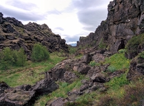 The tectonic ridges of ingvellir Iceland