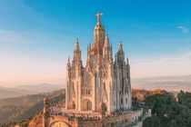 The Temple Expiatori del Sagrat Cor Expiatory Church of the Sacred Heart of Jesus Barcelona Spain