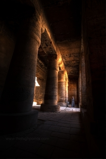 The Temple of Ramesses III - The Karnak Temple Complex Egypt  x-post from rTravel_HD