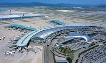 The terminal at Incheon International Airport