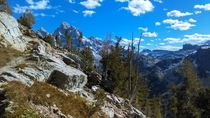 The Tetons are great from the outside but you have to go into them to see the real jewels Paintbrush Divide