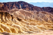 The textures of Death Valley
