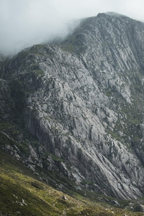 The textures of the mountains in my homeland Snowdonia Wales